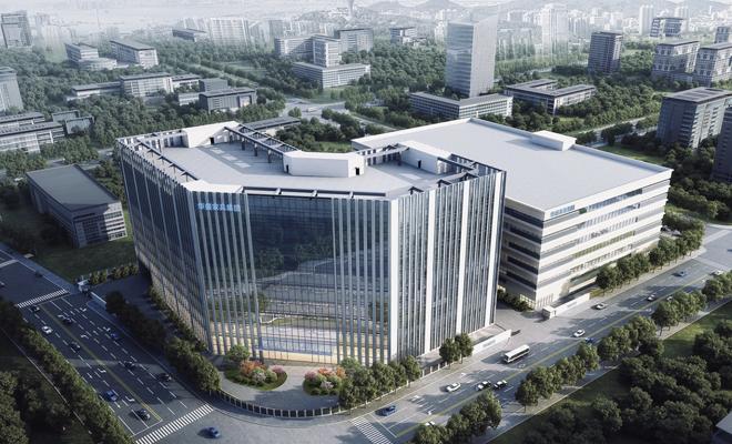 华盛家具智能产业大楼正式动工