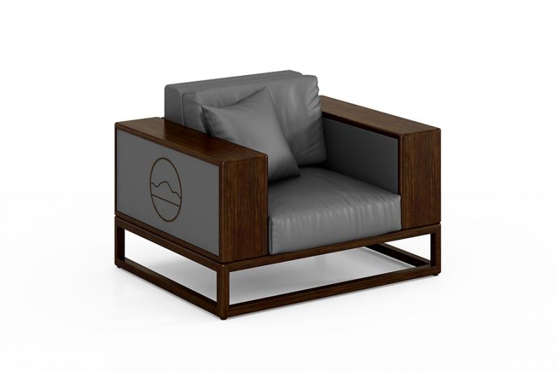 半月山配套单人沙发